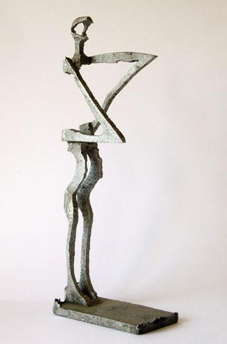 Aurora,-2007,-Aluguss,-Unikat,-45x17x9cm